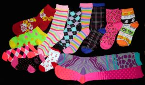 october pile of socks by wiccanwitchiepoo