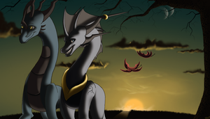 A Breezy Autumns Evening by FortuneSoul
