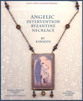 Angelic Intervention (Cas and Dean) Necklace by karadin
