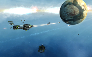 Small TEC Fleet Battle - SOASE by Unikraken
