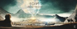 Egypt - Land of the Gods by xa1nx