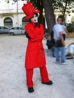 Marilyn Manson cosplay 2 by 14th-division