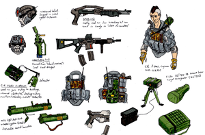 sapper character sheet by halonut117