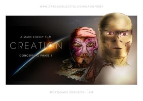 CREATION MOVIE CONCEPT ARTWORK by tanman1