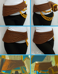 PROGRESS: Zelda's Belt from Breath of the Wild by LayzeMichelle