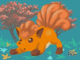 Vulpix by WhiteOrchid14