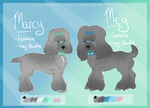 Meg And Marcy Reference Sheet by PinkPoodle543