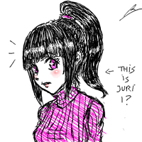 juri with ponytail by borockman