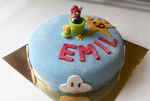 Mario Marzipan Cake by Emfen
