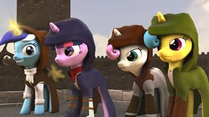[SFM Ponies] Assassin's Creed Unity by FD-Daylight