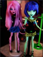 New CAMs Cat and Witch by Brett1486