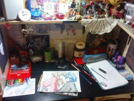 My corner in the room. by TiaVon