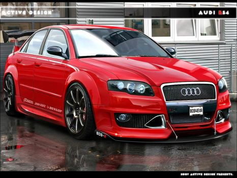 Audi RS4 by Active-Design