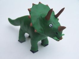 Triceratops by Chickaroo16