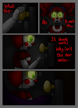 FNAF SL Comic: A Animatronic's Demise Pg 17 by superpinkygirl101