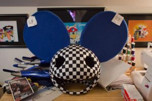 Deadmau5 Head Commission by AngelCostumes