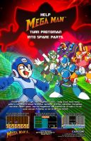 Spare Parts - Mega Man 5 by Desidus