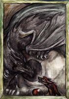 Grennian and Grendel by Lupuna