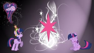 Twilight Sparkle Background by Kuroiraishu