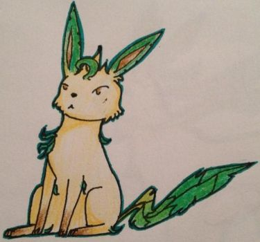 Mission Statement Five: Leafeon by Rayonder