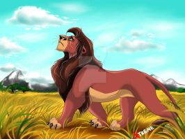 The Lion King - King Kovu by Diego32Tiger