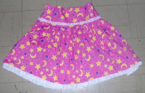 Moon and Stars Skirt by Ange-Gothique