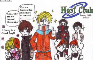 Host Club goes Naruto by xxx-TeddyBear-xxx