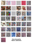 fabric selection - printed cottons by tiny-tea-party