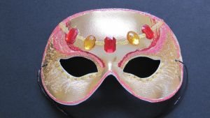 Bejeweled Mask by GossamerWing