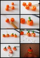 Halloween pumpkins tutorial by GemDeDude