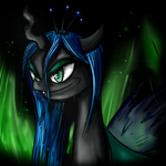 Queen Chrysalis by Anzhyra