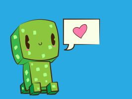 Cute Creeper by tiv3n