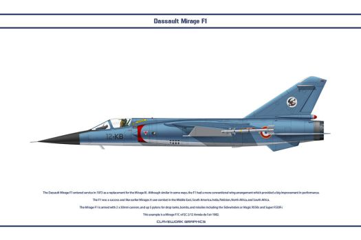 Mirage F1 France 2 by WS-Clave