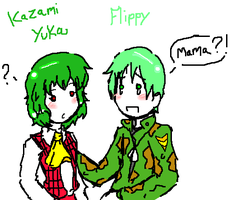 Flippy finds his mama 8D by Bry-chan