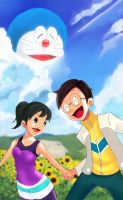 Doraemon Stand by Me by girapin