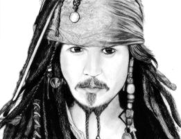 Captain Jack Sparrow by Mandalalala