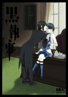 This butler- longing. by RidaChan