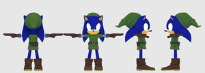 The Legend of Sonic by NIBROCrock