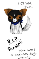 R.I.P., Russell. by MagicalSockOfMagic
