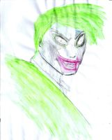 the joker watercolour by Harlequin89