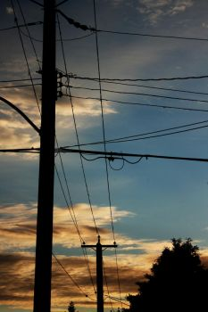wires in the sky by searbear