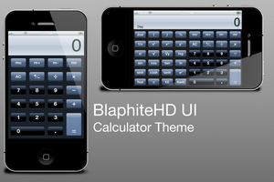 BlaphiteHD UI Calculator Theme by bonez89