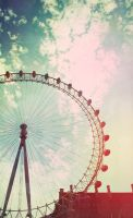 London eye by KatixSupersonic