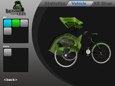 GUI for becak edan the game 2 by akbarwibawa
