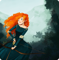 Merida by pluww