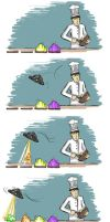 Alien Jelly and the Chef by Lady-Mango