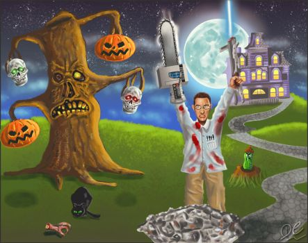 Angry Video Game Nerd Fan Art by David-c2011