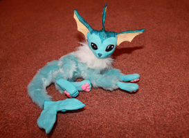 Vaporeon OOAK for SALE by IFreischutz