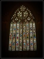 York Minster - Great West Window by WormWoodTheStar