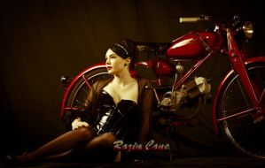 Candy Apple Red by Razin-Cane